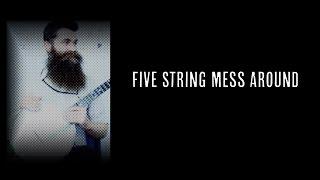 5 String Mess Around - Episode 009 - Aaron Jonah Lewis  (Clawhammer Banjo Lessons + Hangout)