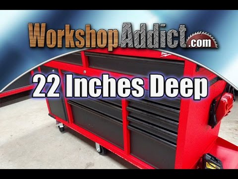 Milwaukee 60 Inch Mobile Workbench Review 48 22 8560 Youtube