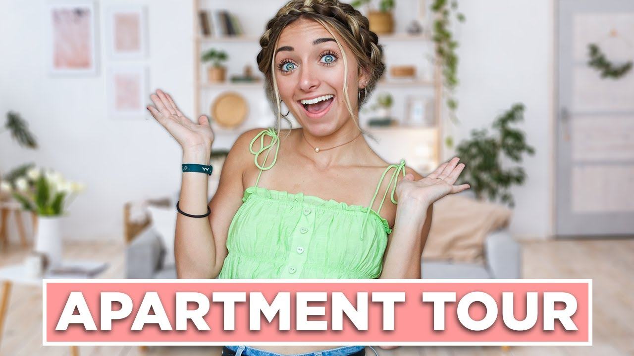 My First Apartment Without My Twin | House Tour