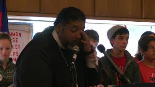 The Rev. William Barber Tells the Crowd 'Enough'
