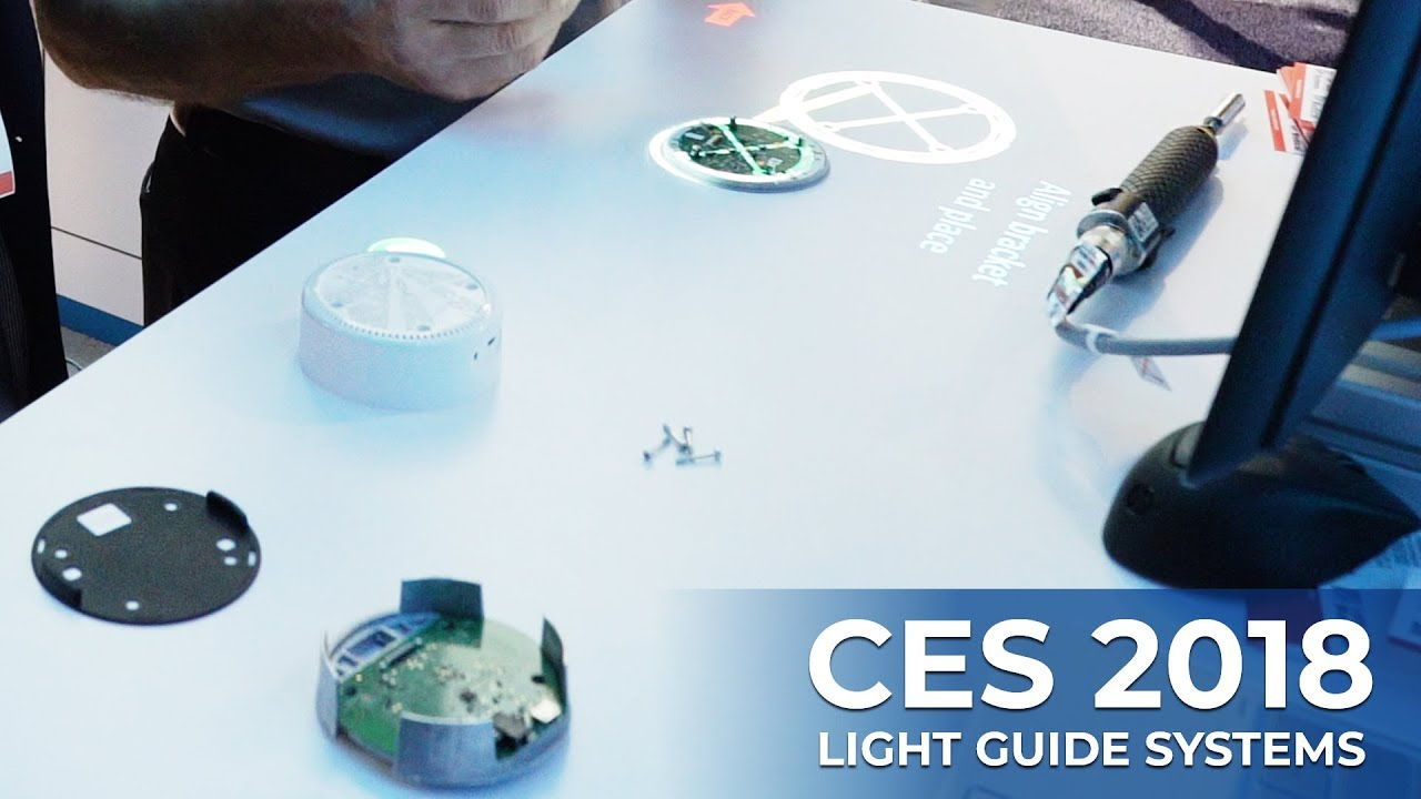 CES 2018   Light Guide Systems At The Consumer Electronics Show