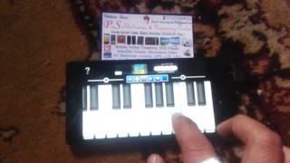 amazing mobile piano tune old song aye ho meri zindagi mein tum bhar banke