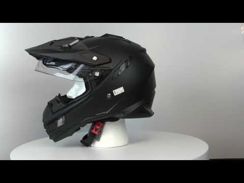 AFX Motorcycle FX-41DS Solid Snow Helmet