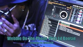 Lil Boosie Calls Webbie During His Show Live From Prison On Gutta TV