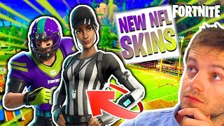 🔴 [FORTNITE] I BOUGHT THE SKINS -NFL ULTRA CLASSE! CHOOSE MY AMERICAN FOOTBALL STYLE