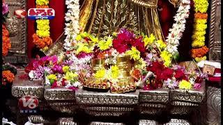 Gold Saree For Kanyaka Parameswari Devi In Visakhapatnam | Teenmaar News  Telugu News
