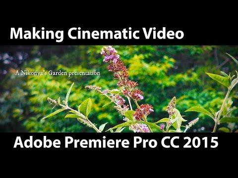 Making Cinematic 2.40:1 Video in Adobe Premiere Pro CC 2015