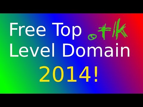 Free Top Level Domain + Webspace! [DE HD 2014]