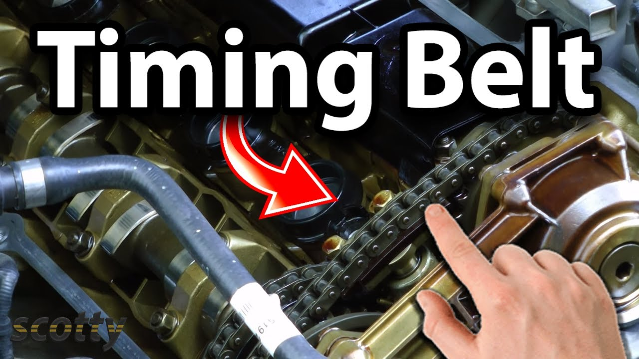 Finding If A Timing Belt Or Chain Is Worn. - YouTube
