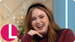 Jumanji&#39s Karen Gillan Reveals Her Co-Stars Have to Stand on Boxes  Lorraine