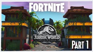 Fortnite Jurassic World Fallen Kingdom Map [Part1] + Map Code