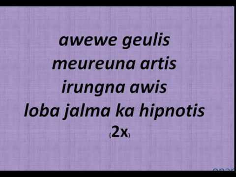 sundanis - awewe geulis + (Lirik)