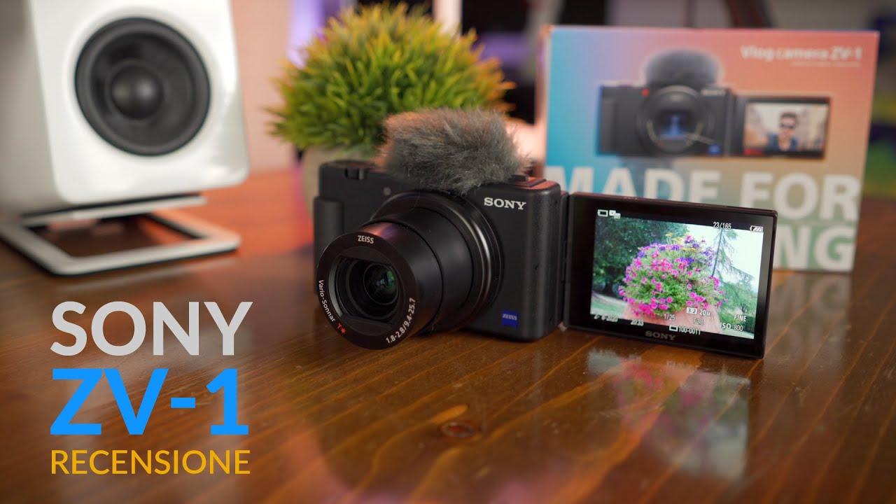 Recensione Sony ZV 1 | Fotocamera quasi perfetta per i Vlogger