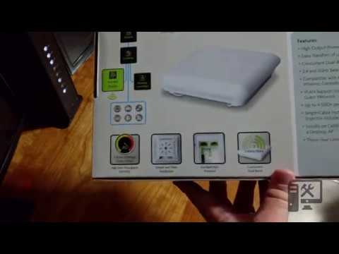 Luxul XAP-1510 AC1900 Access Point Unboxing