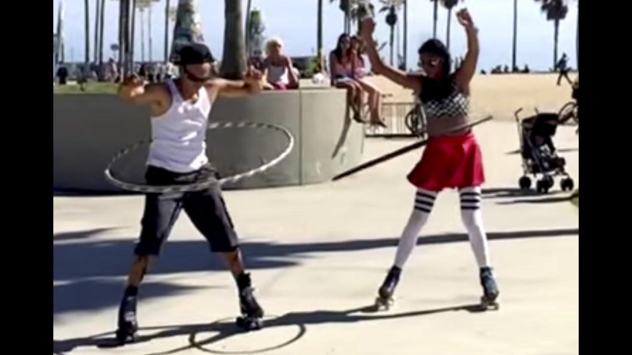 Roller skating los angeles - Soul Boogie Supreme Roller Skate Dancers At Venice Beach