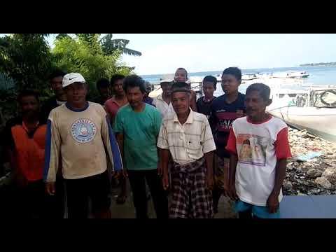 Polres Majene~Deklarasi anti Hoax kelompok nelayan Garogo Selatan, Kec  Banggae