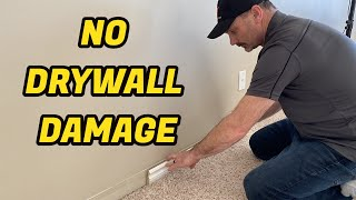 How To Remove Baseboard