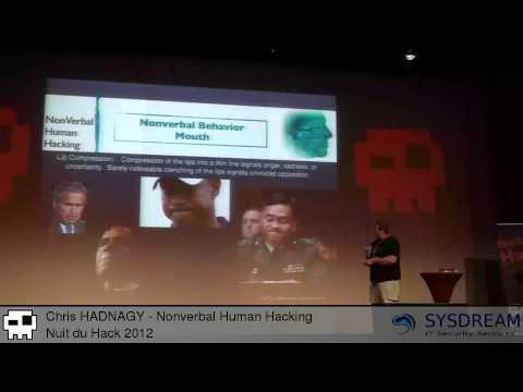 Chris HADNAGY - Nonverbal Human Hacking [EN]