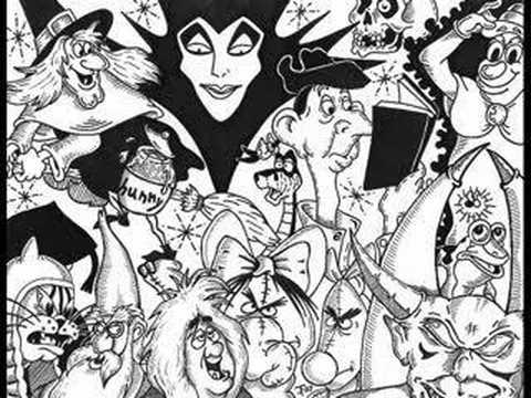a disney halloween collage youtube - Disney Halloween Drawings