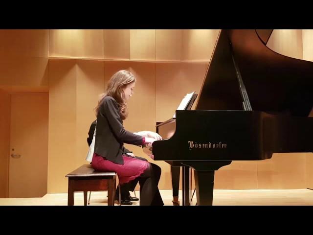 Nora and Tristan jouent Fauré |  Studio de piano Tristan Lauber