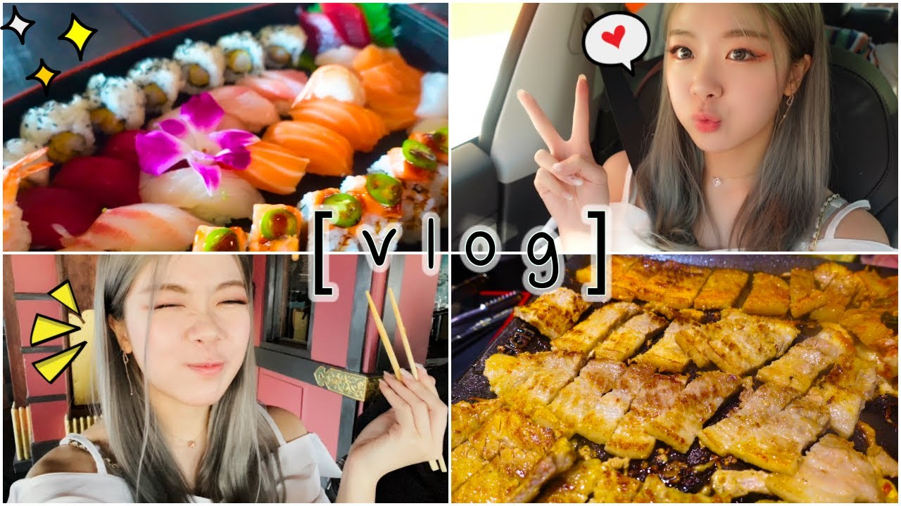 what i eat in a week [vlog] gained 5 lbs from this LOL