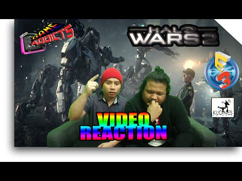 Halo Wars 2 Official E3 Trailer Reaction (Game Addicts)