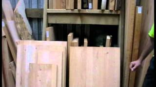 Cypress Sawmill Laminated Slabs Promo.mpg