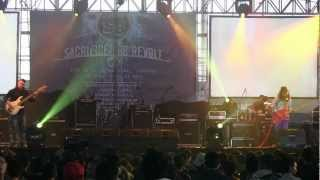 Gugun Blues Shelter - Emptyness ~ Good Thing Bad Things @ Sacrifice for Revolt in SBY [HD]