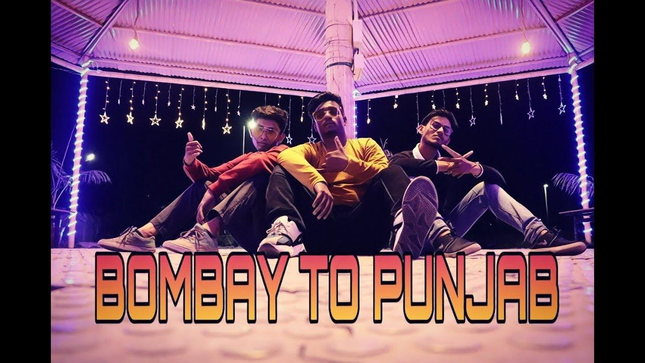 Bombay To Punjab | Divine ft. Deep Jandu | Dance Cover | Vrushabh Kalbande Choreography