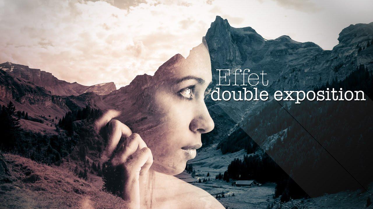 Extrem TUTO] EFFET DOUBLE EXPOSITION / DOUBLE EXPOSURE AVEC PHOTOSHOP CC  YO41