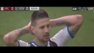 Highlights Aston Villa vs Newcastle United |0-0| Premier League 7 Mei 2016