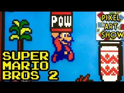 Perler Bead Super Mario Bros 2 Project - Pixel Art Show