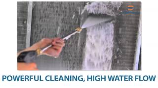 SpeedClean FlowJet Coil Cleaning System with Foaming Coil Cleaner for Thick Coils