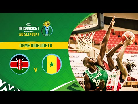 Kenya - Senegal | Highlights - FIBA AfroBasket 2021 Qualifiers