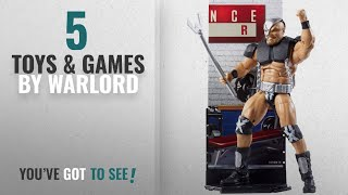 Top 10 Warlord Toys & Games [2018]: WWE Elite Collection Flashback Warlord Action Figure