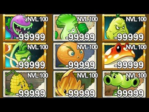 Plants Vs Zombies 2 7 Super Plantas Nivel 100