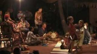Tribal freak out at Bhakti Kutir/ Palolem Goa 2002 part one