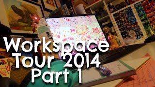 Kerrie's Drawing Workspace 2014 Part 1