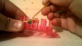 """Урок 3. Плетение из резинок """"Вязанка"""""""