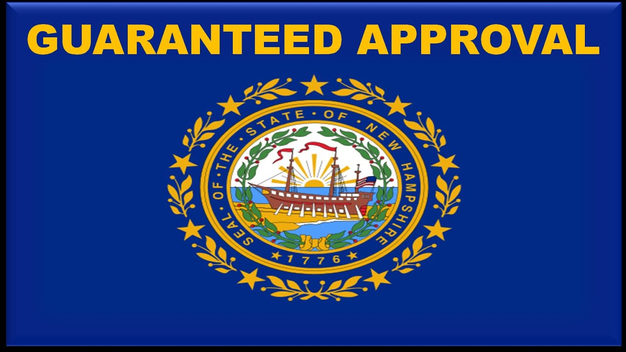 New Hampshire State Car Financing Bad Credit Auto Loans For First