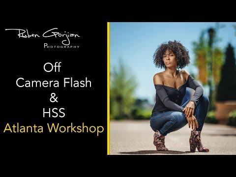 Off Camera Flash & HSS Atlanta Workshop