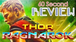 Thor: Ragnarok 60 Second Review (NO Spoilers) | CinemaWins