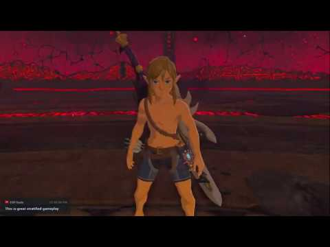 Breath of the Wild - No Upgrade, Nude Final Boss Rush