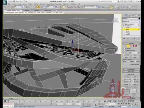Organic Architecture Modeling - Lesson 02 - Part03 - Arts Center