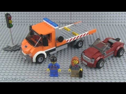 LEGO City Flat Bed Truck 60017 review! - YouTube