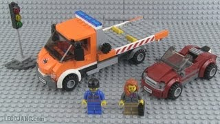 LEGO City Flat Bed Truck 60017 review! thumbnail