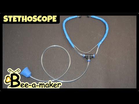 DIY Stethoscope | How a Stethoscope works - YouTube