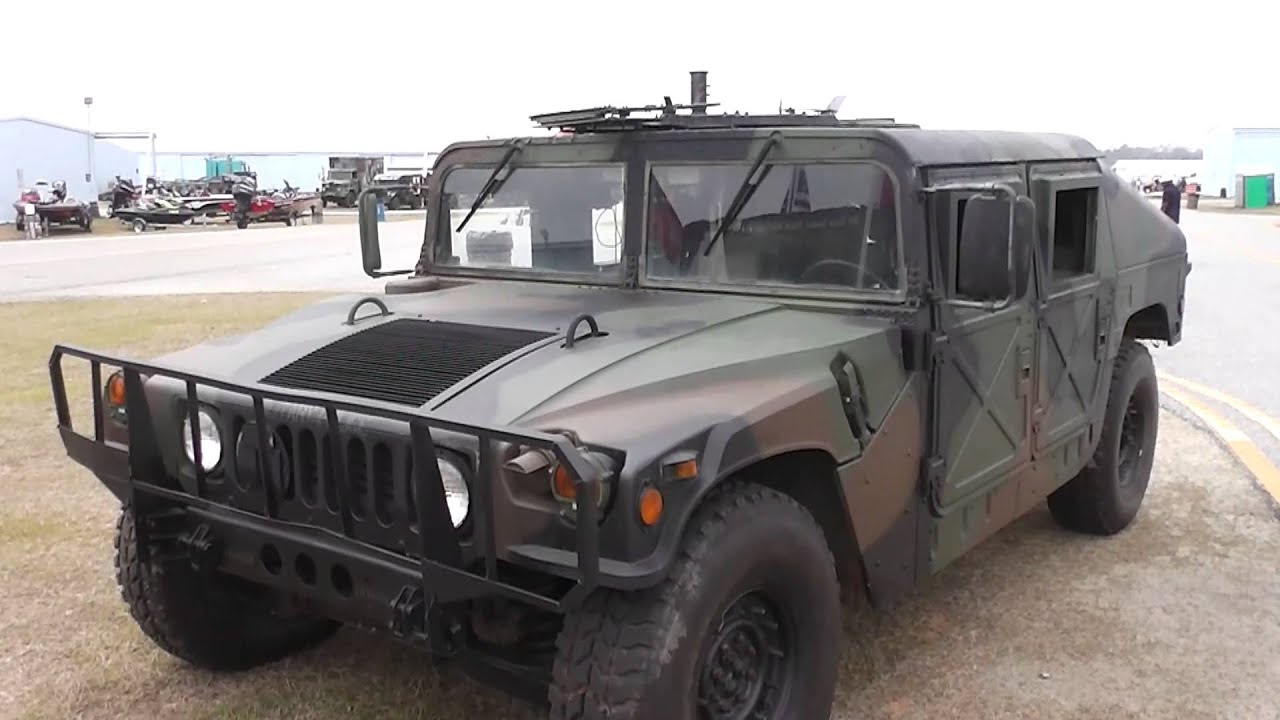 Columbus Airshow U.S. ARMY Military Police HUMVEE 3-17-2013 TAKE#2