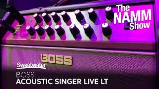 Boss Acoustic Singer Live LT at Winter NAMM 2020