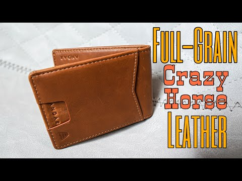 Andar Ranger Wallet: Top Quality and Functional Slim Leather EDC Minimalist BiFold